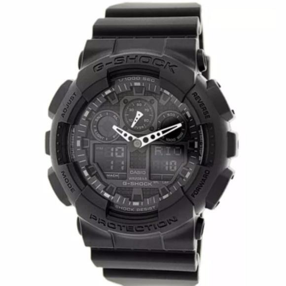 G-Shock Accessories - Casio G Shock Black GA100 sports watch NEW!